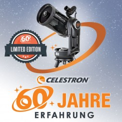 "CELESTRON 60 JAHRE  JUBILÄUMS EVOL.8"""