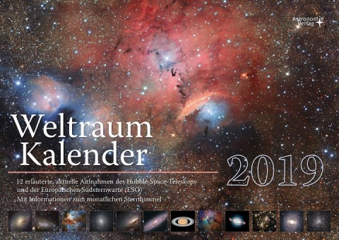 ASTRO WELTRAUM KALENDER 2019