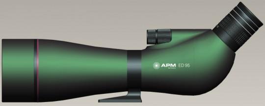 APM 95 MM APO Spektiv+Swaro 30-60x Zoom