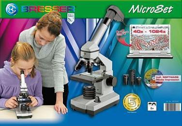 Купить микроскоп цифровой bresser junior xu в кейсе в