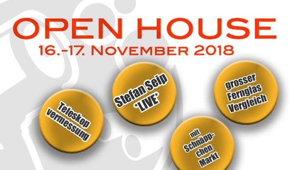 Open House Banner 2018