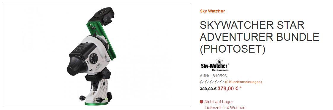 Skywatcher Montierung